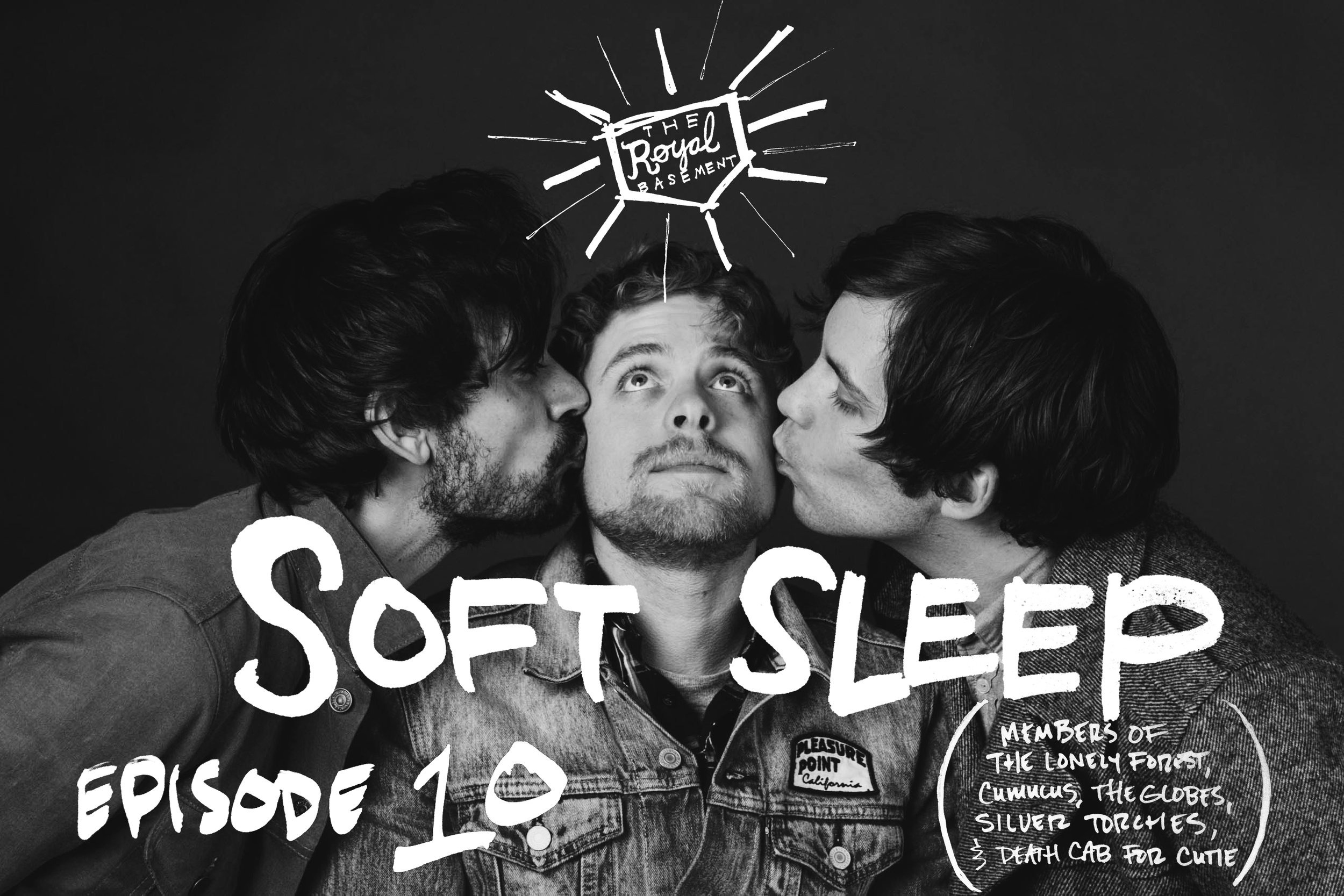 Tony Ruland, Kyle Holland, and Erik Walters of Soft Sleep.