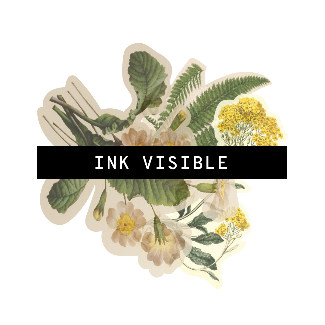 ink visible