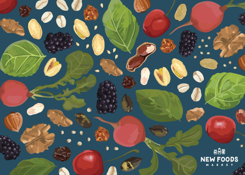 new foods market -