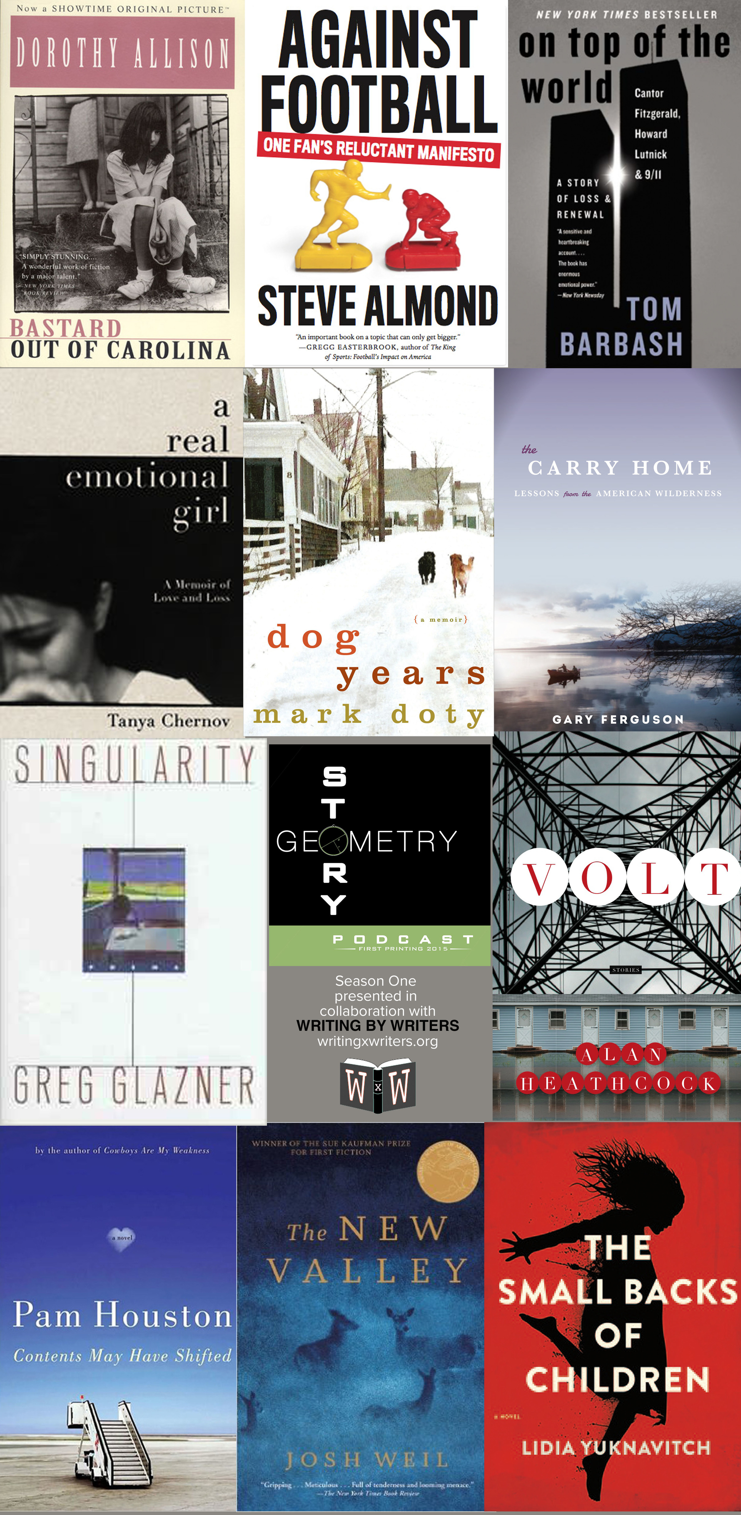 Books from Story Geometry's Season One Guests