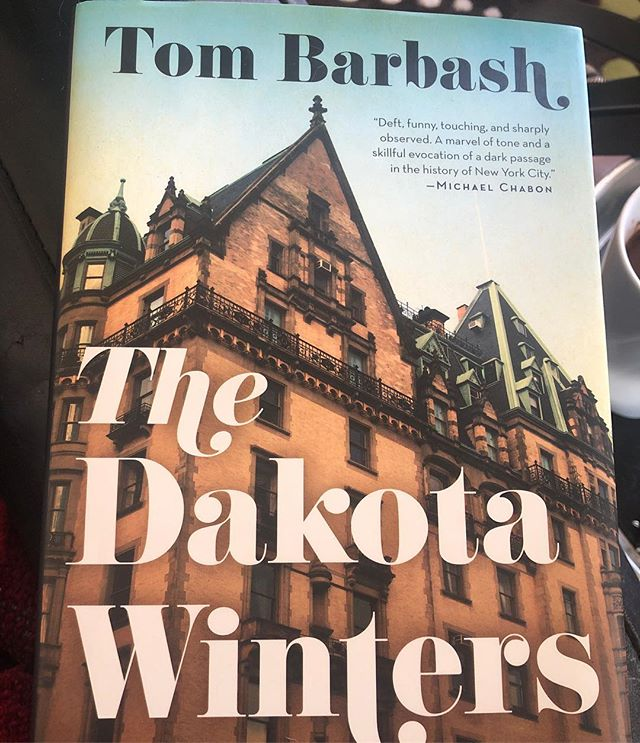 If you'd like a breezy, clever, thoughtful escape into fiction, do yourself a favor and pickup this gem! It's early 1980 and Anton, our protagonist, and his family live in NYC's famed Dakota ... whose celebrity residents include John & Yoko. .. #amreading  #fiction  #novel  #thebeatles  #tombarbash  #thedakotawinters  #newyorkcity