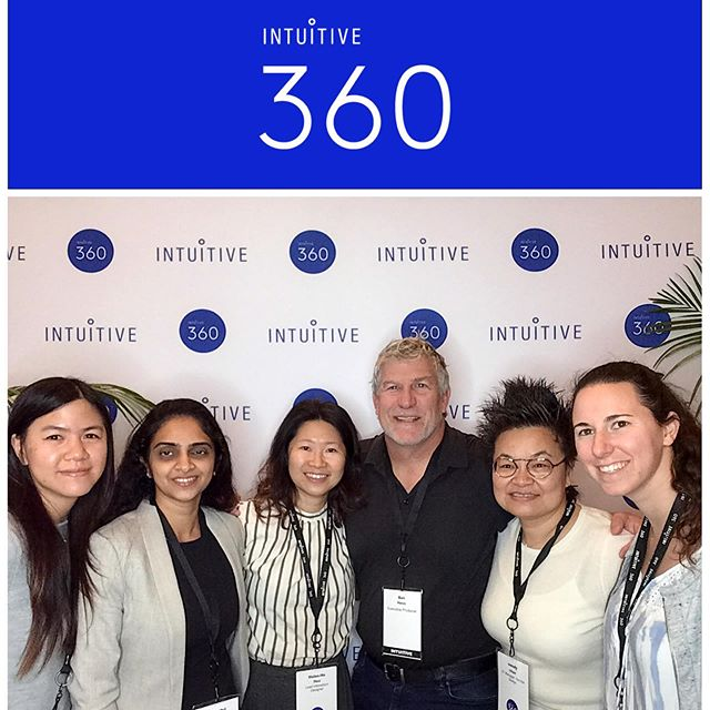 got a shot with amazing #Intuitive #intuitivesurgical #Design colleagues at #Intuitive360 - great conference!