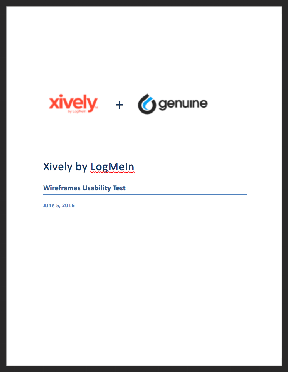 Download usability report