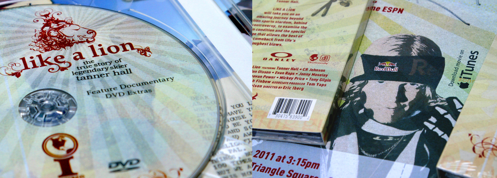 Dual Disc Insert featuring DVD & Soundtrack CD. See through disk case and poster.