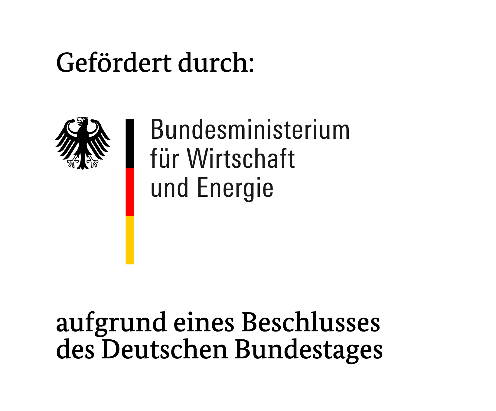 Logo BMWi Förderung
