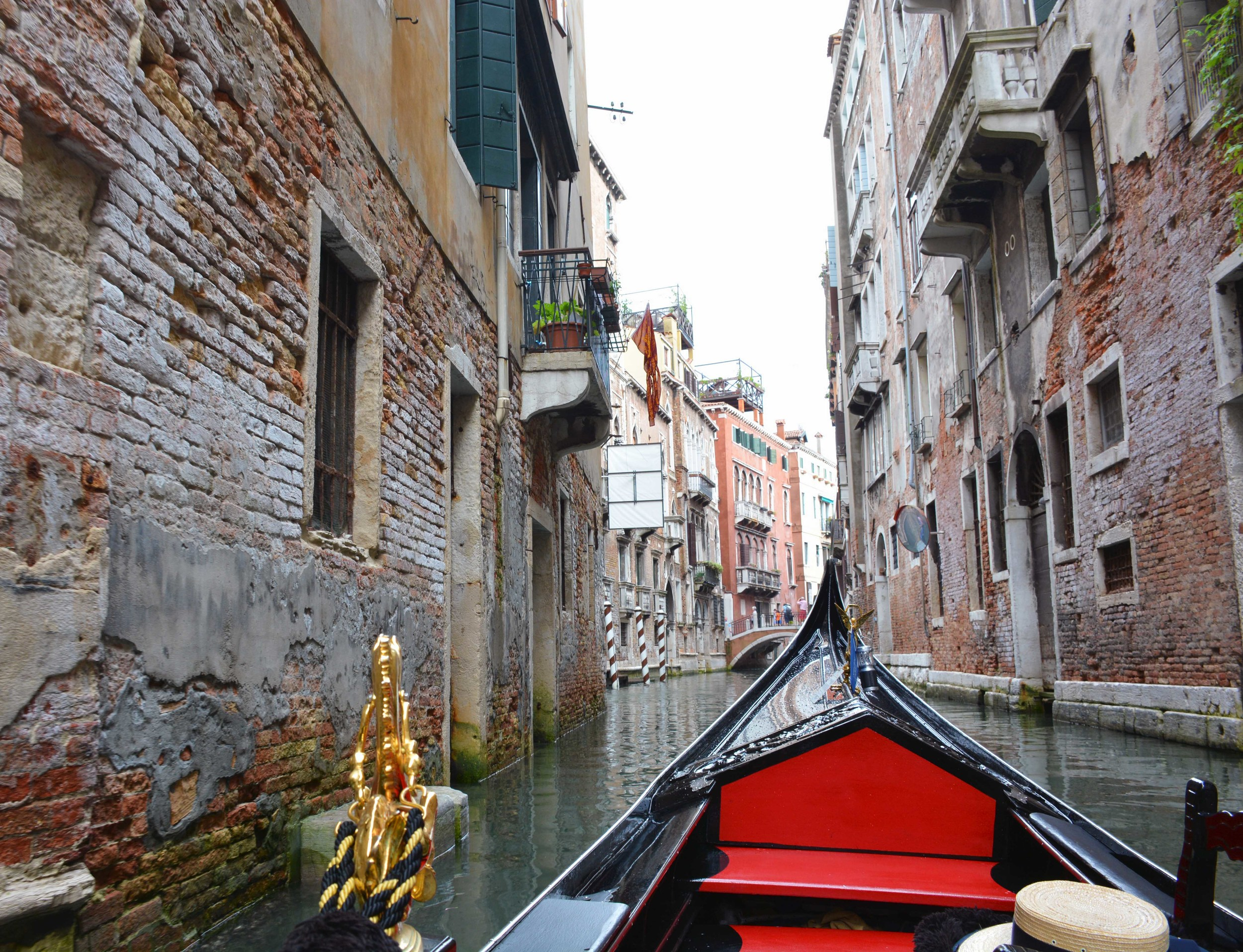 Gondola ride in Venice. Put it on your bucket list.