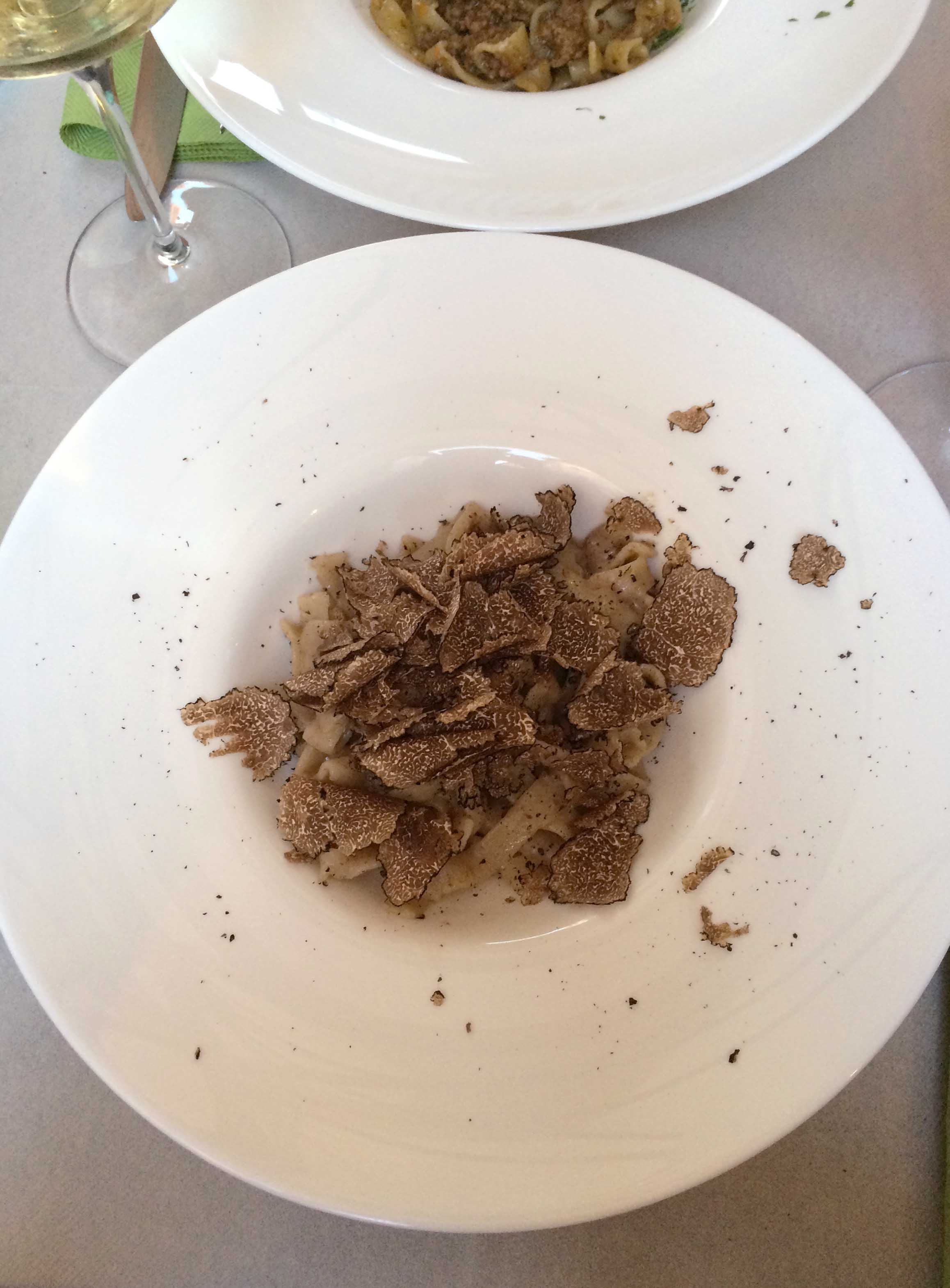 The land of truffles did not disappoint.