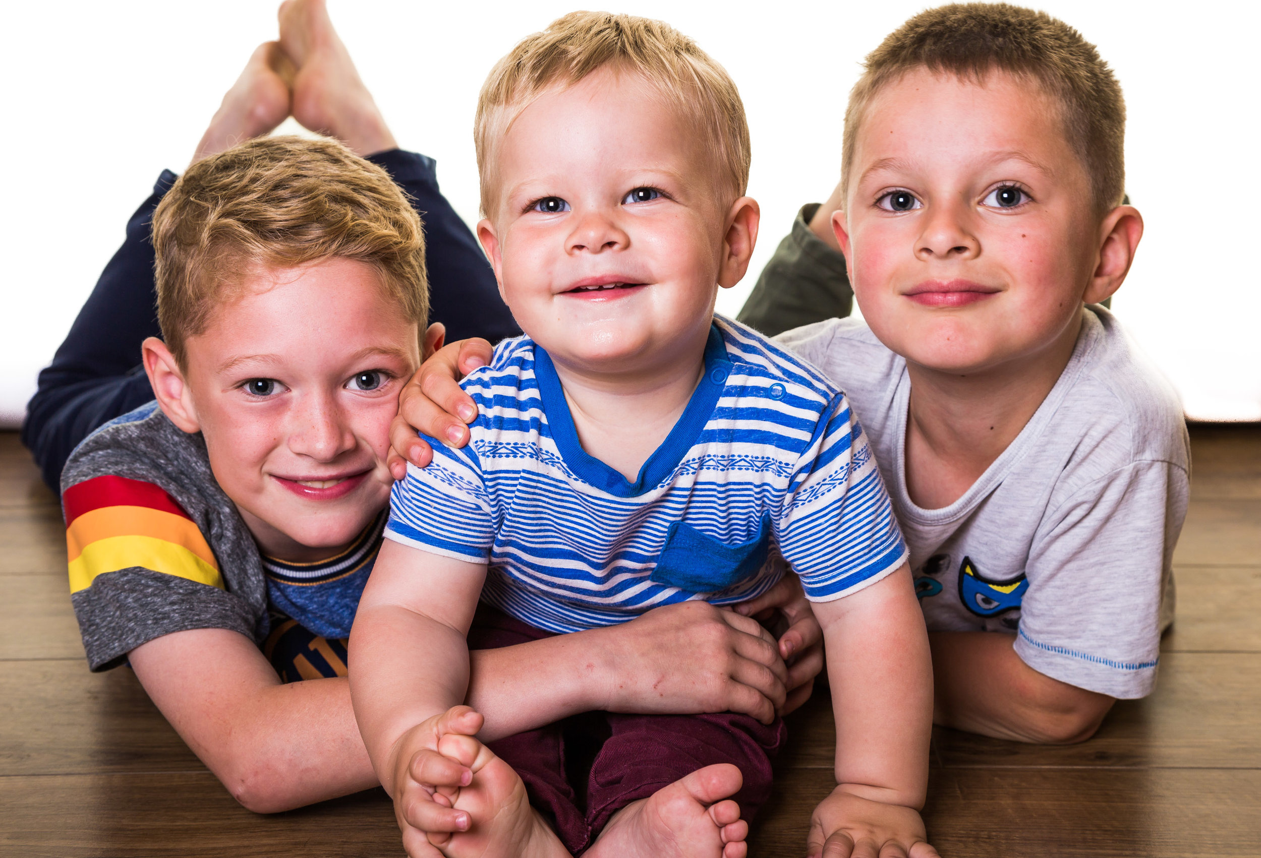The Lee's - This family also opted for our home studio in order to take some family photographs.