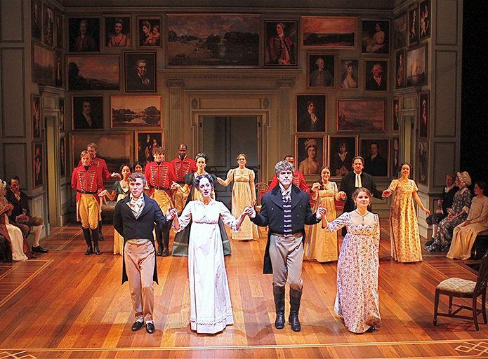 Matt Leisy, Kate Cook, Loren Dunn and Katya Stepanov, left to right, (c) Cincinnati Playhouse
