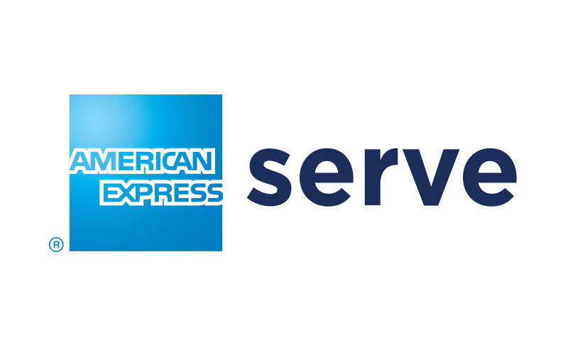 The American Express Serve lockup since 2013.