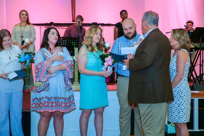 Davis and Whitfield Baby Dedication - May 14, 2017