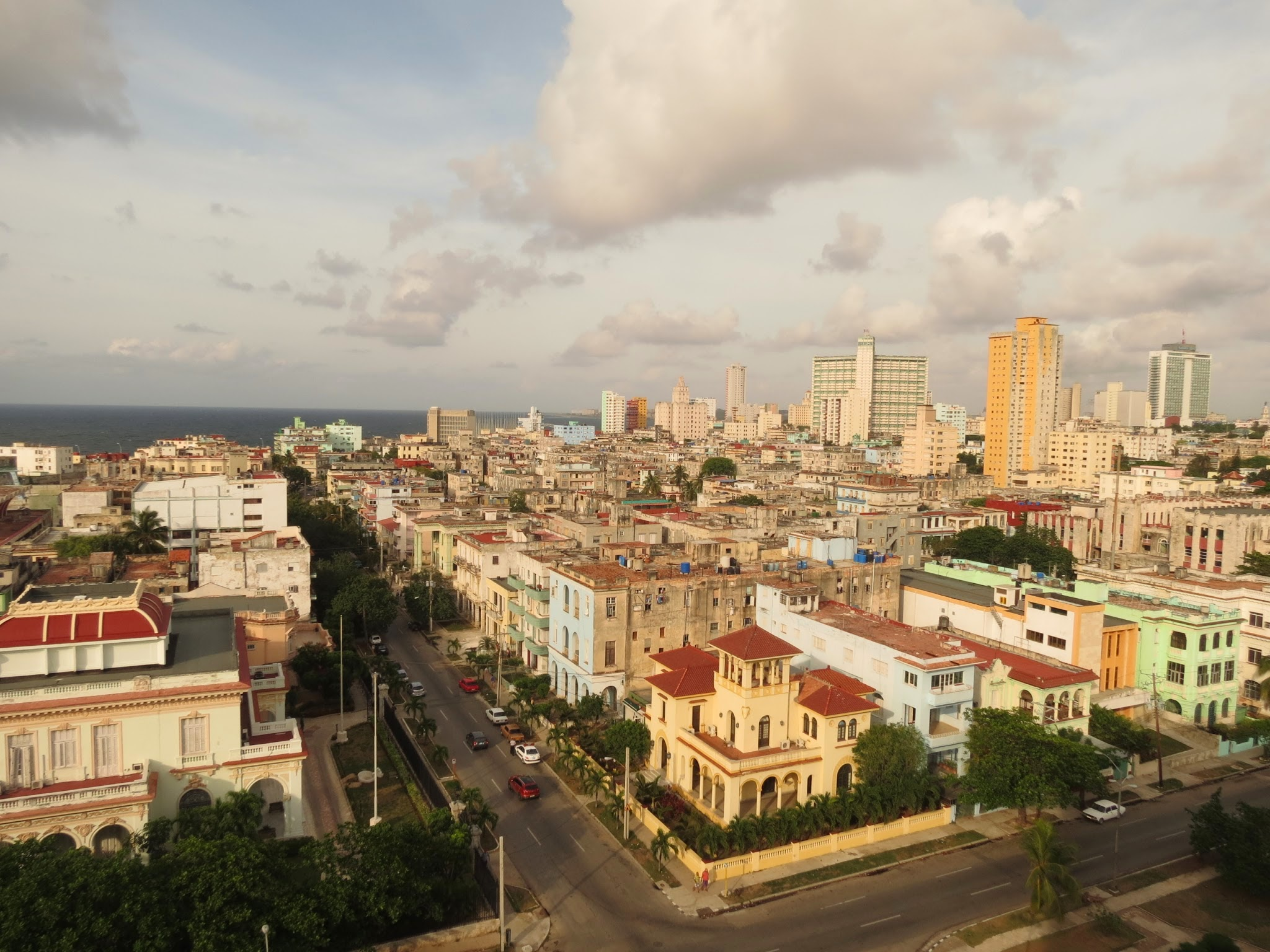 A stunning view of Havana, Cuba from my hotel room window.
