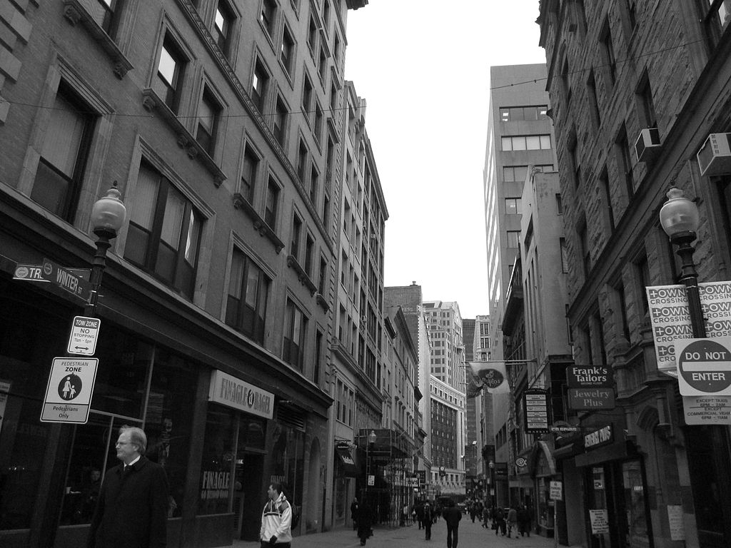 Photo  (cc) of Winter St in Boston,by M2545 and publishedunder a Creative Commons license. Some rights reserved.