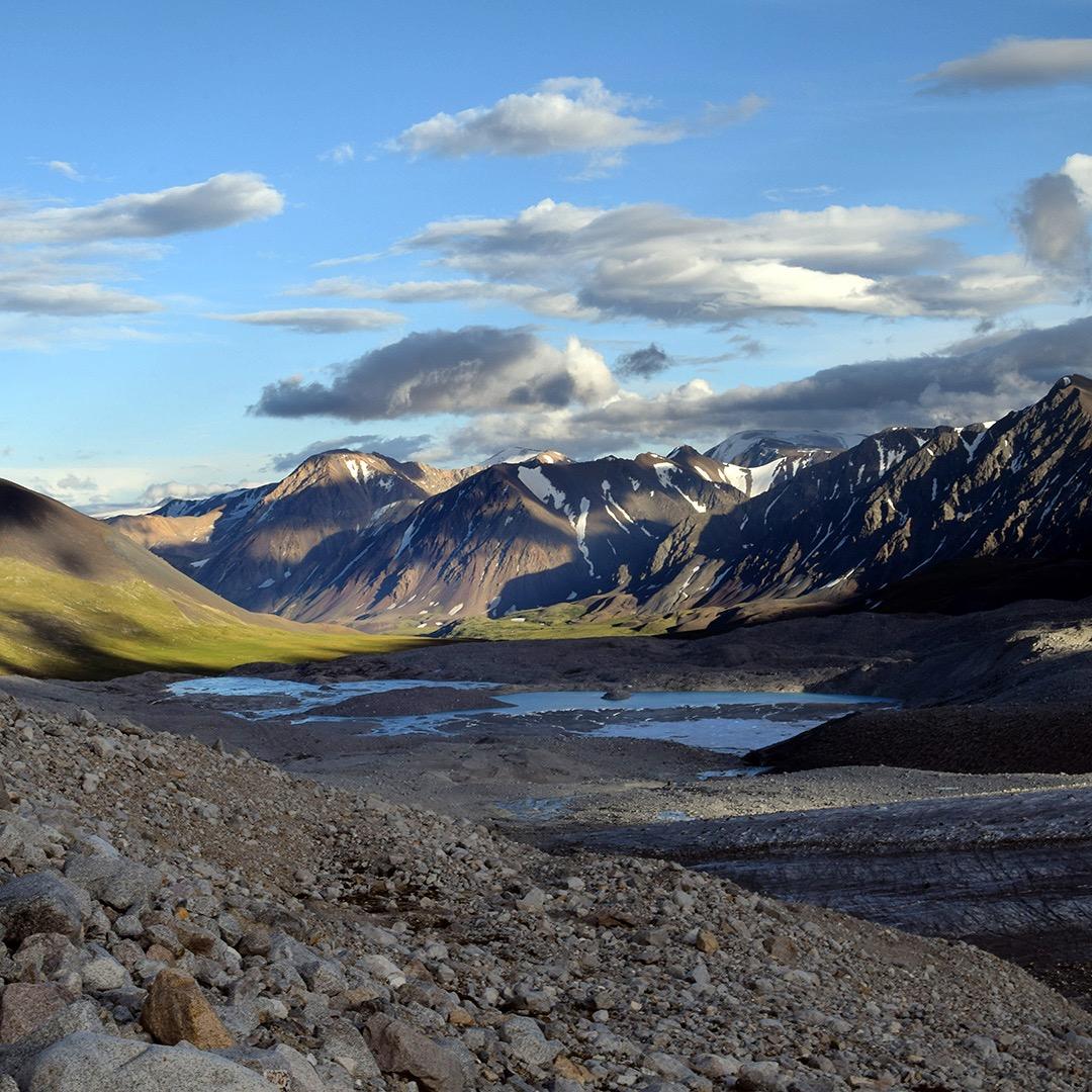 Altai Tavan Bogd in Mongolia.