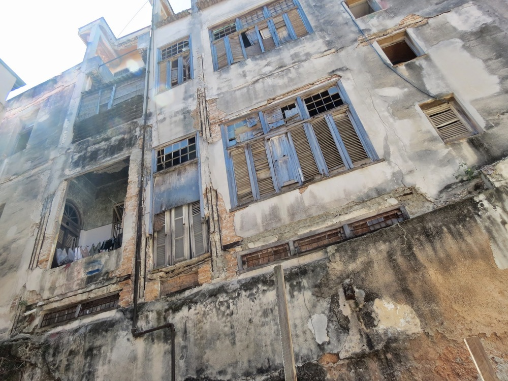 Many buildings in Havana, Cuba have remained unchanged since the revoluttion in the early 1960s.