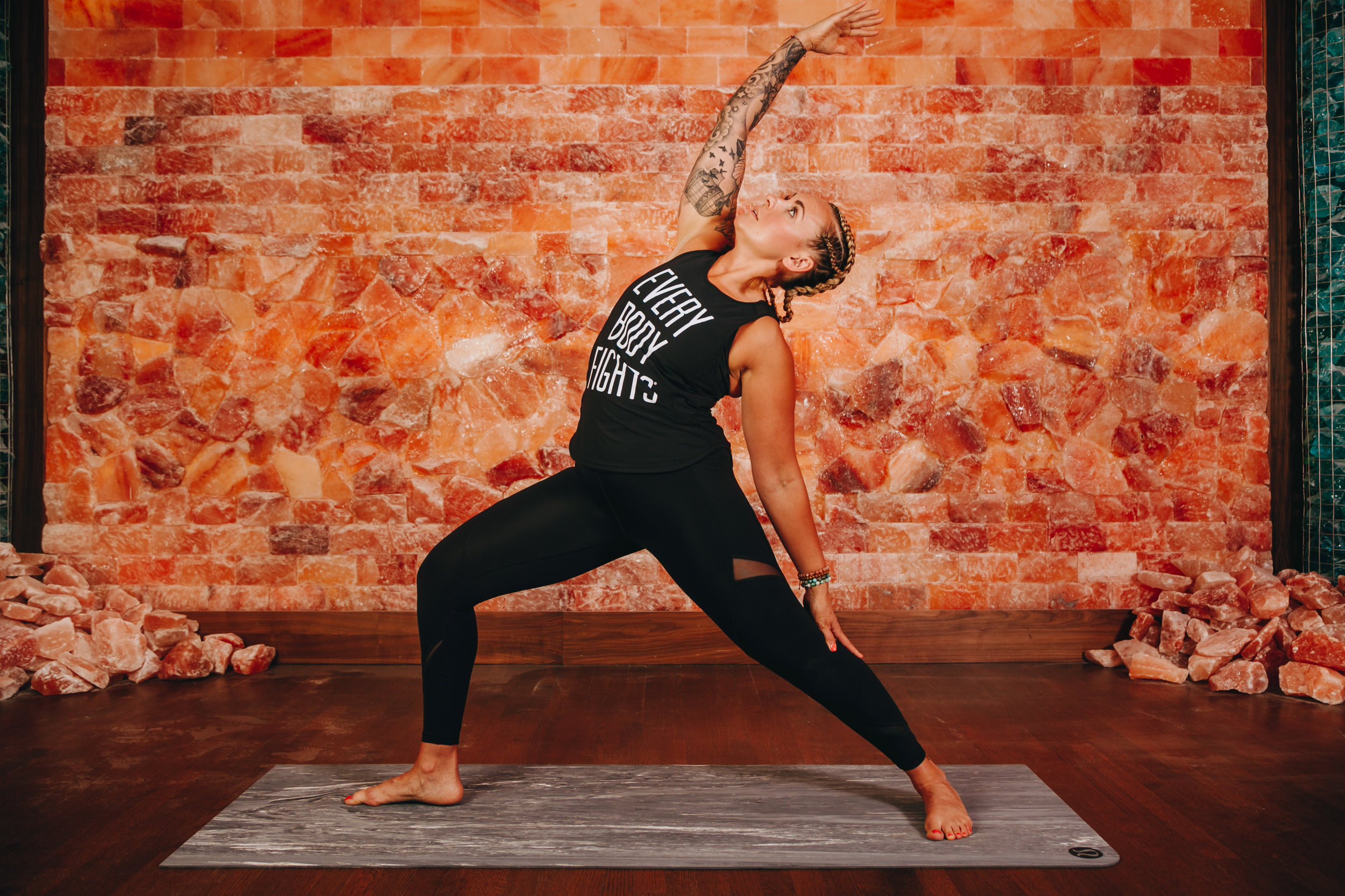 Just Add Salt - The only Himalayan salt cave in Boston is offering a limited-series yoga class