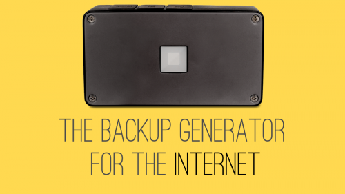BRCK - The Backup Generator for the Internet