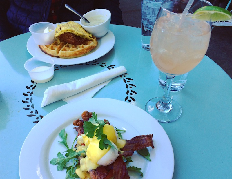 Brunch at  The Beauty Shop . TO DIE FOR.