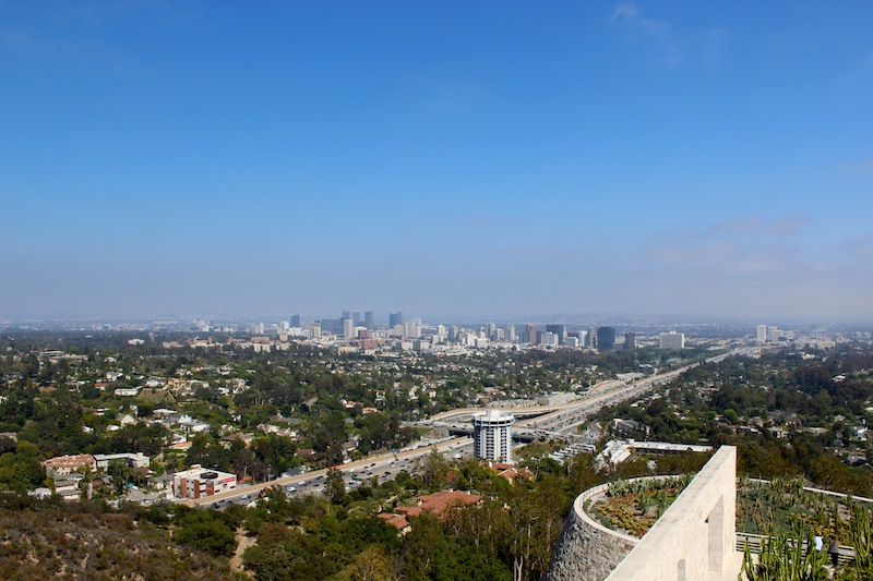 View from  The Getty . Turns out there are lots of opportunities for great views in Los Angeles.