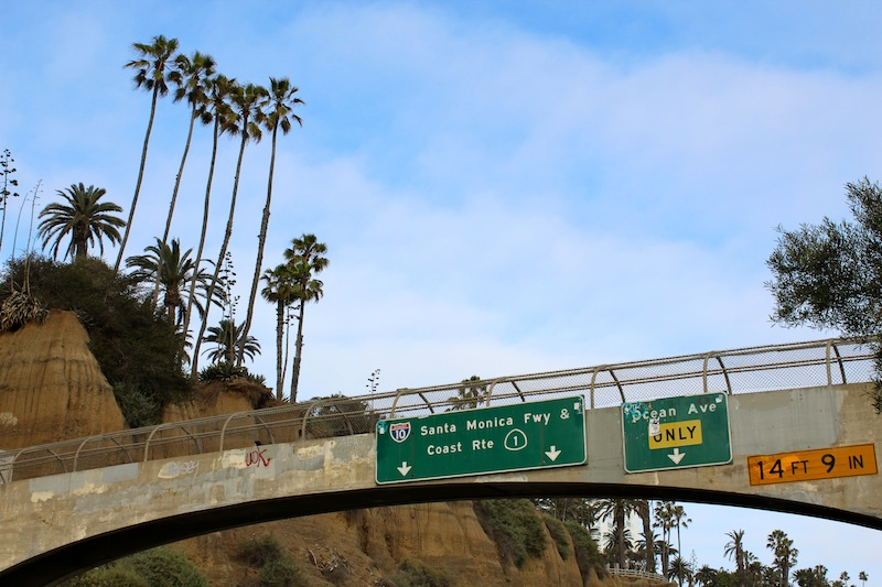 """We made a quick half-hour trip to Santa Monica so I could check out the Pacific Ocean for the first time. If I'd had my way, we also would have listened to Everclear's """"Santa Monica"""" on repeat, but ..."""