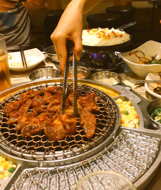Korean barbecue! What a treat!