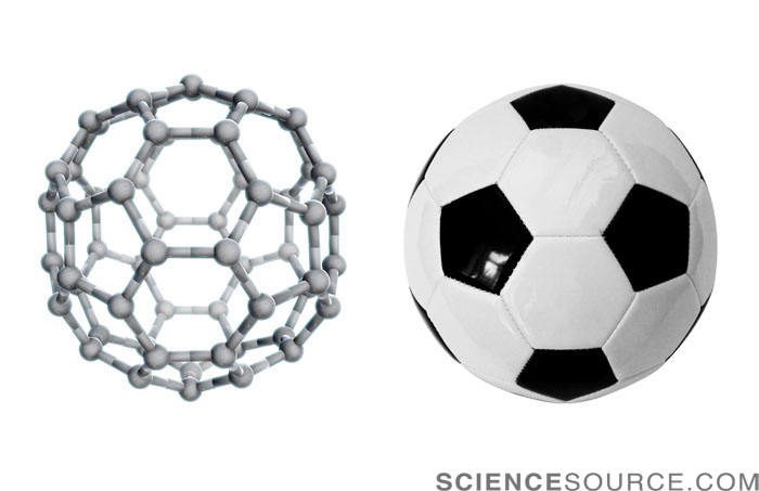 Buckyball and Soccer Ball