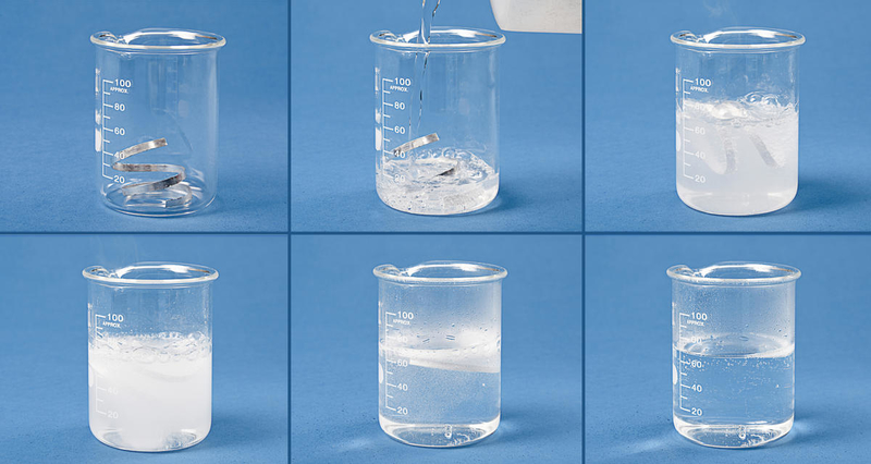 Hydrochloric acid & Magnesium