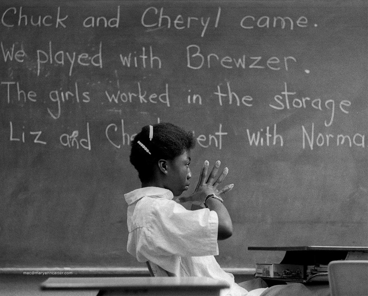 Haitian Student
