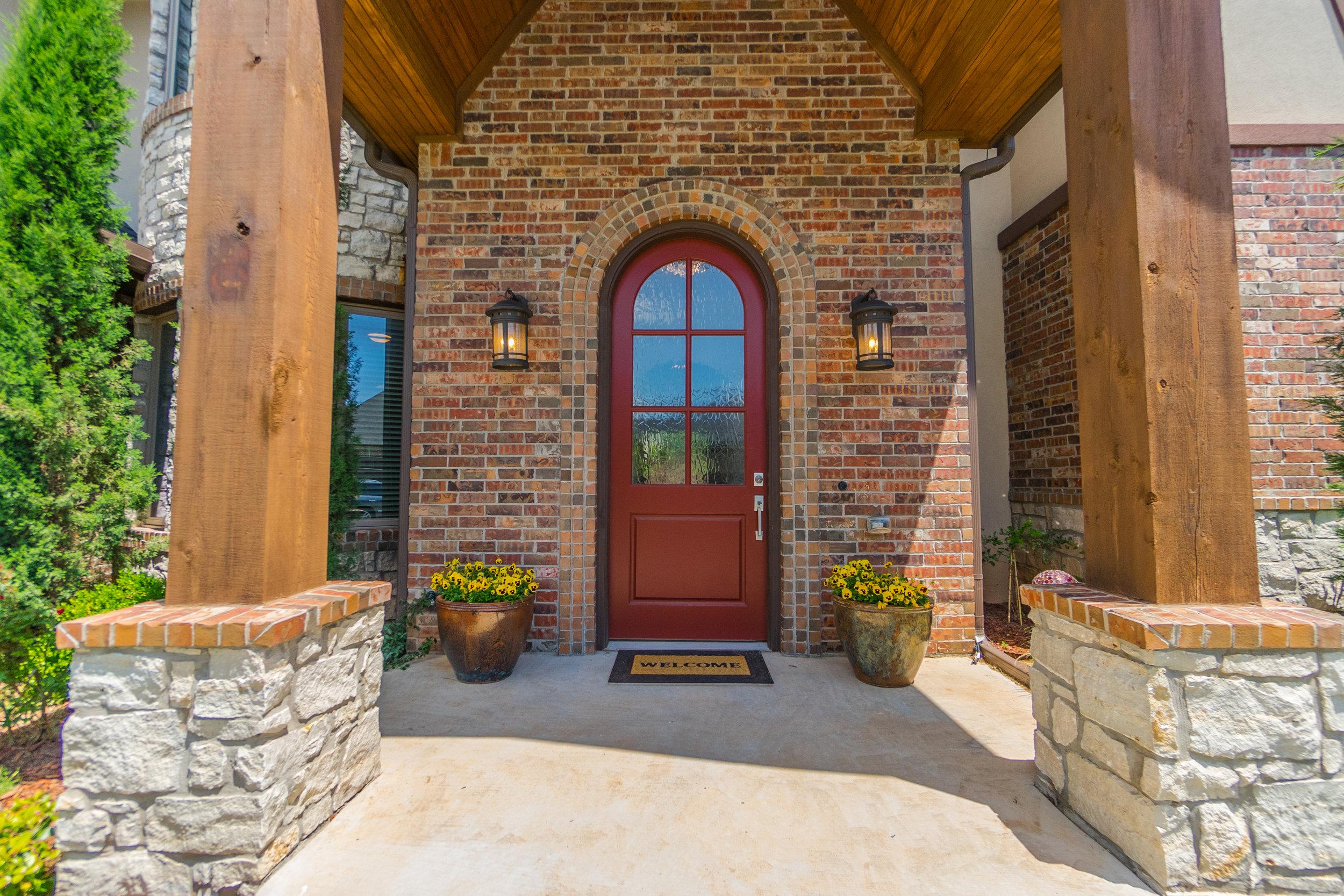 front door - please come in!