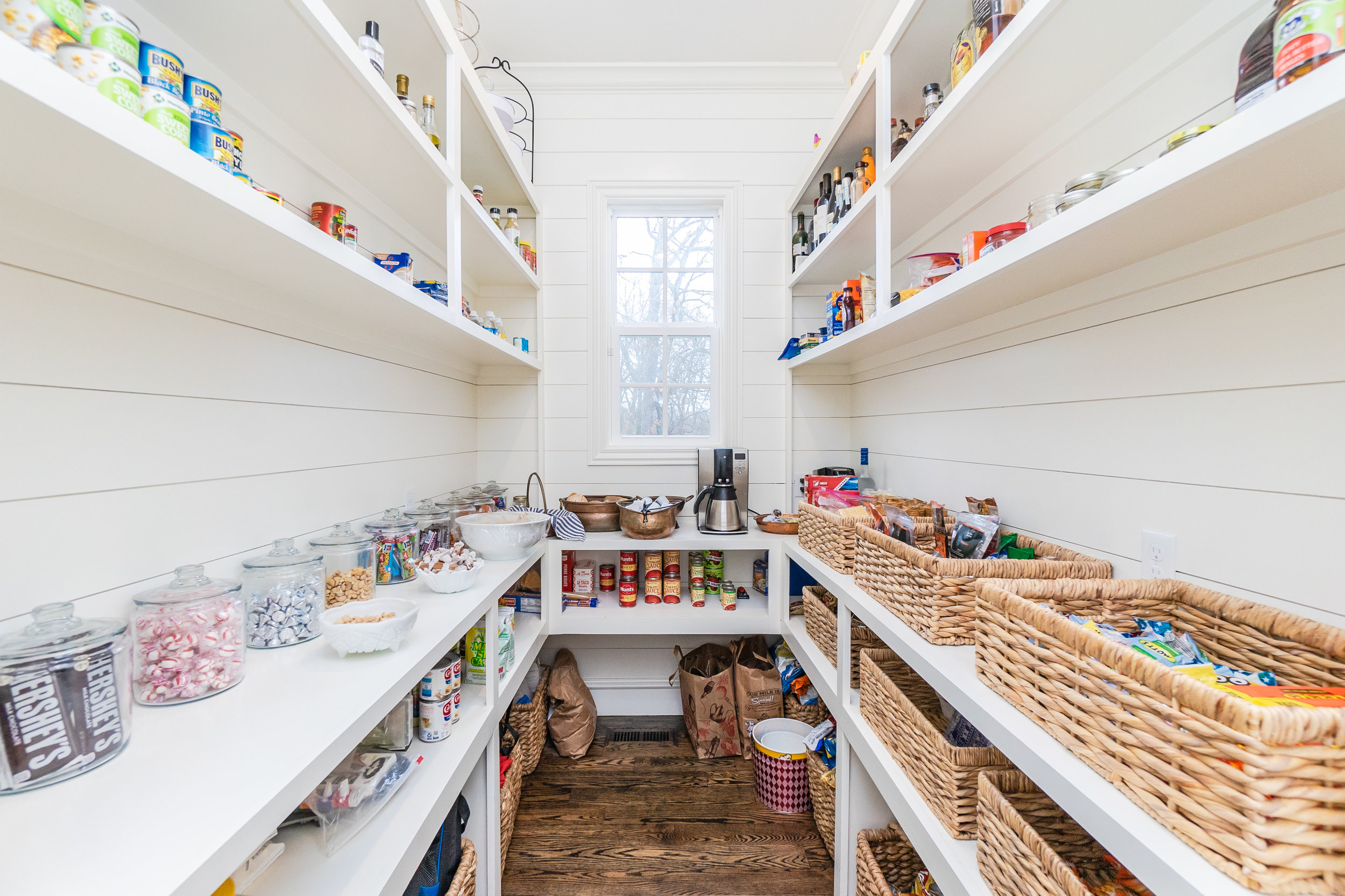 Check out this pantry!