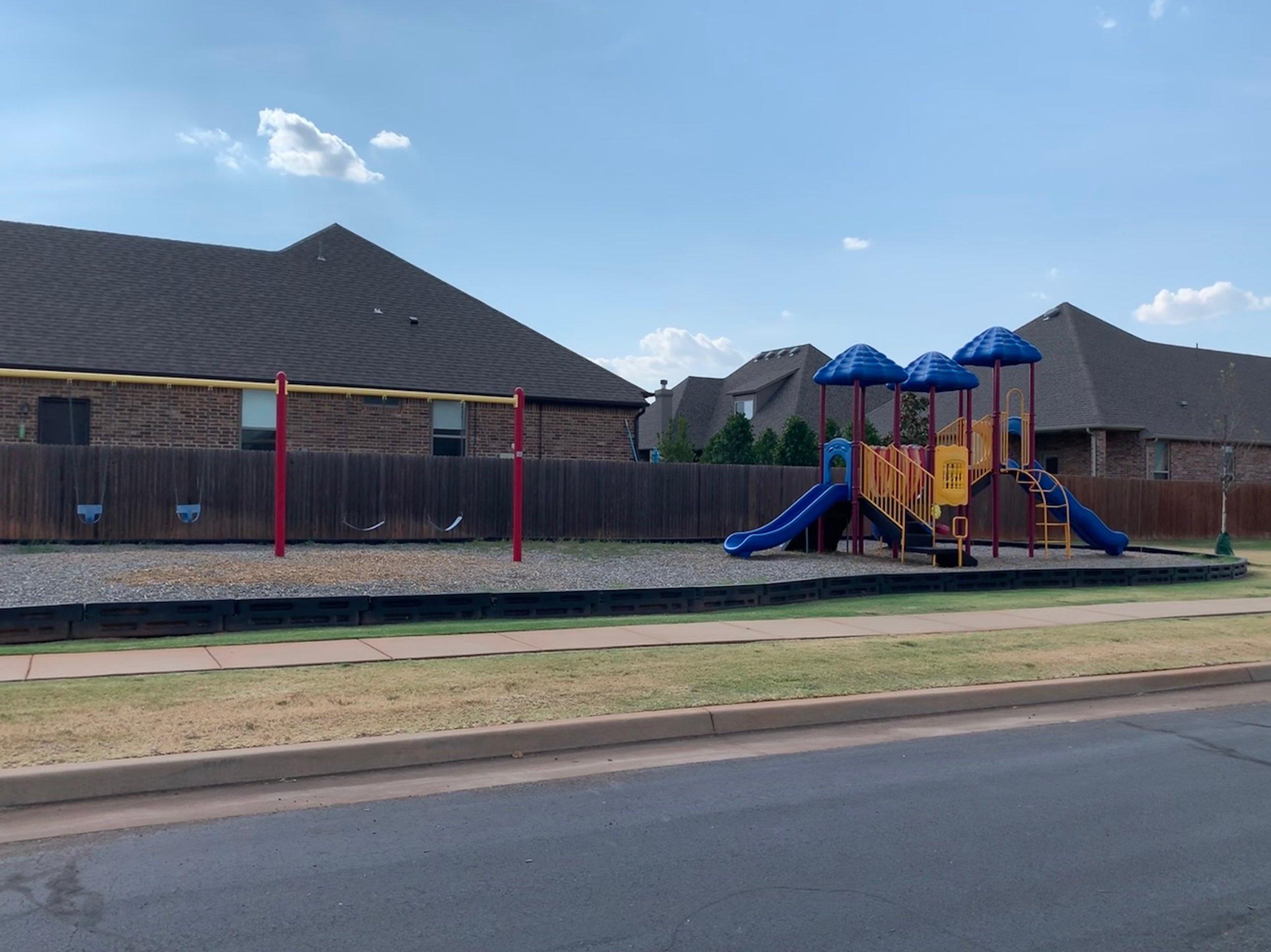 Neighborhood play park.