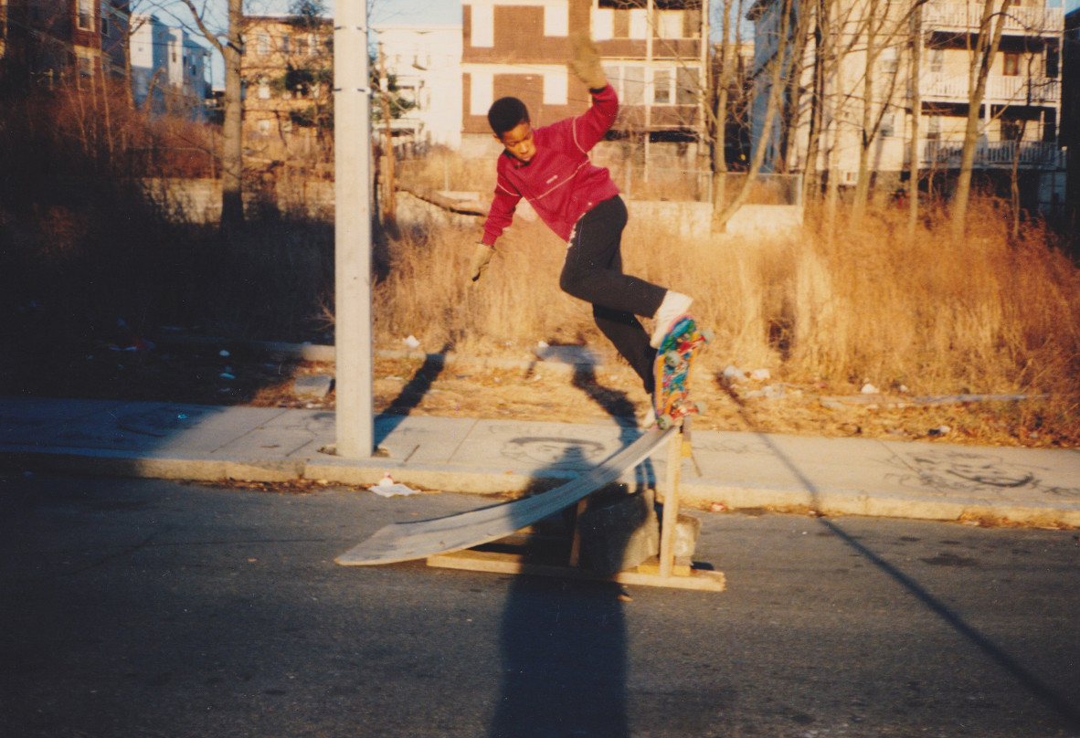 Pre-teen Jahmal, ripping in Boston before you could tie your shoes