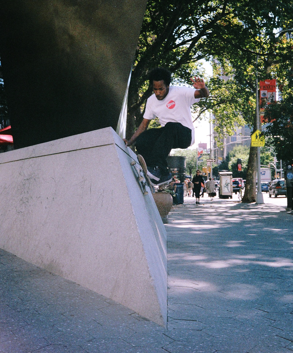 F-side wall ride at Lincoln Center, NYC-Photo: Stewart