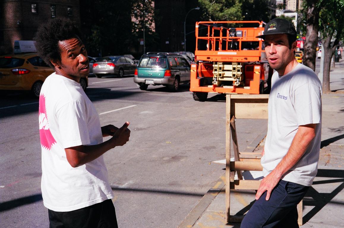 Jahmal and Steve Brandi NYC 2013-Photo by Josh Stewart