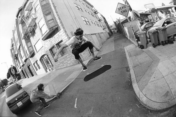Kickflip. Photo / HART