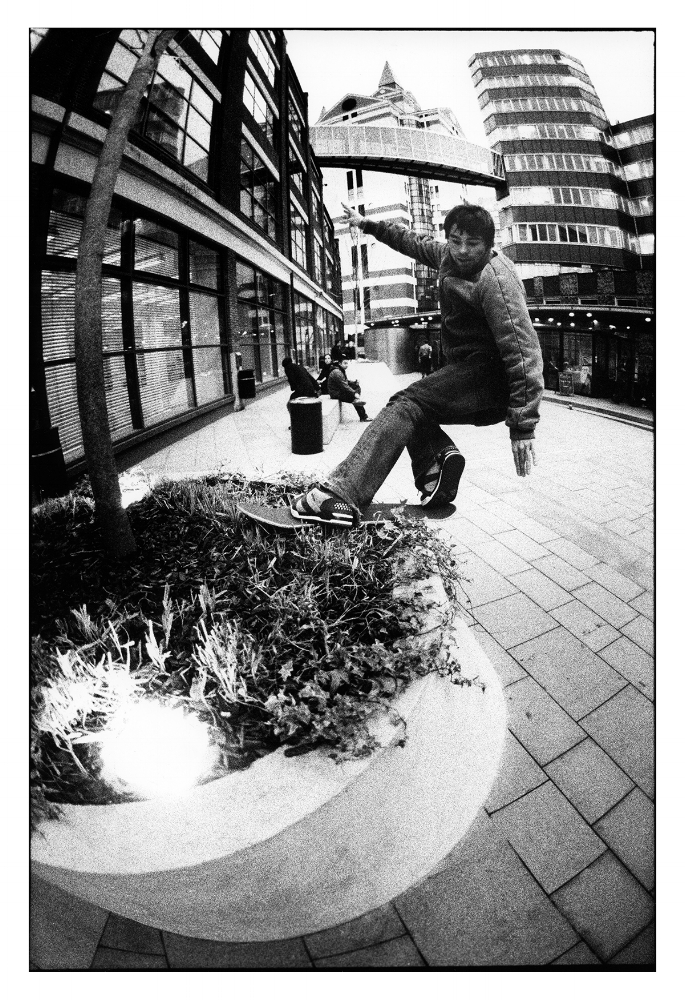 Olly Todd-Front Rock London, 2003