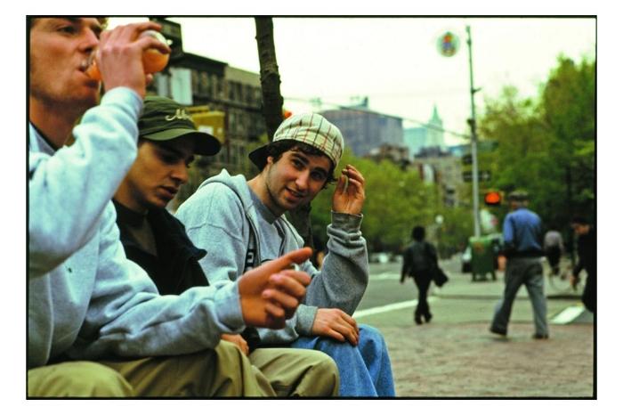 Mike Cardona, NYC 1995