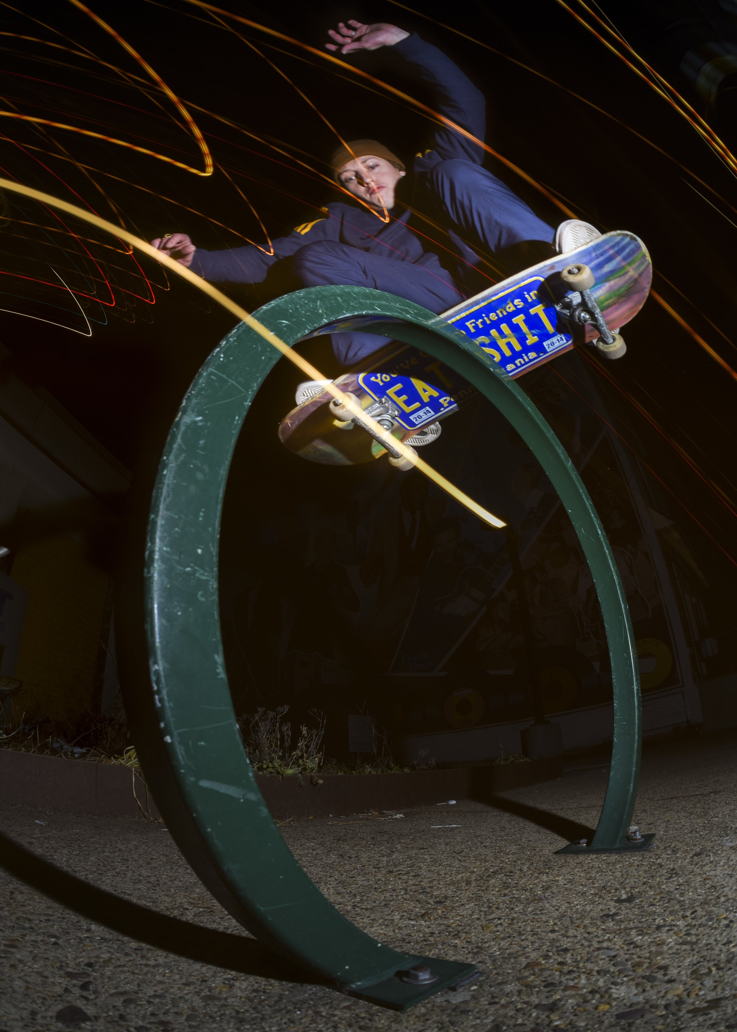 Frontside Lipslide: Photo by George Rose