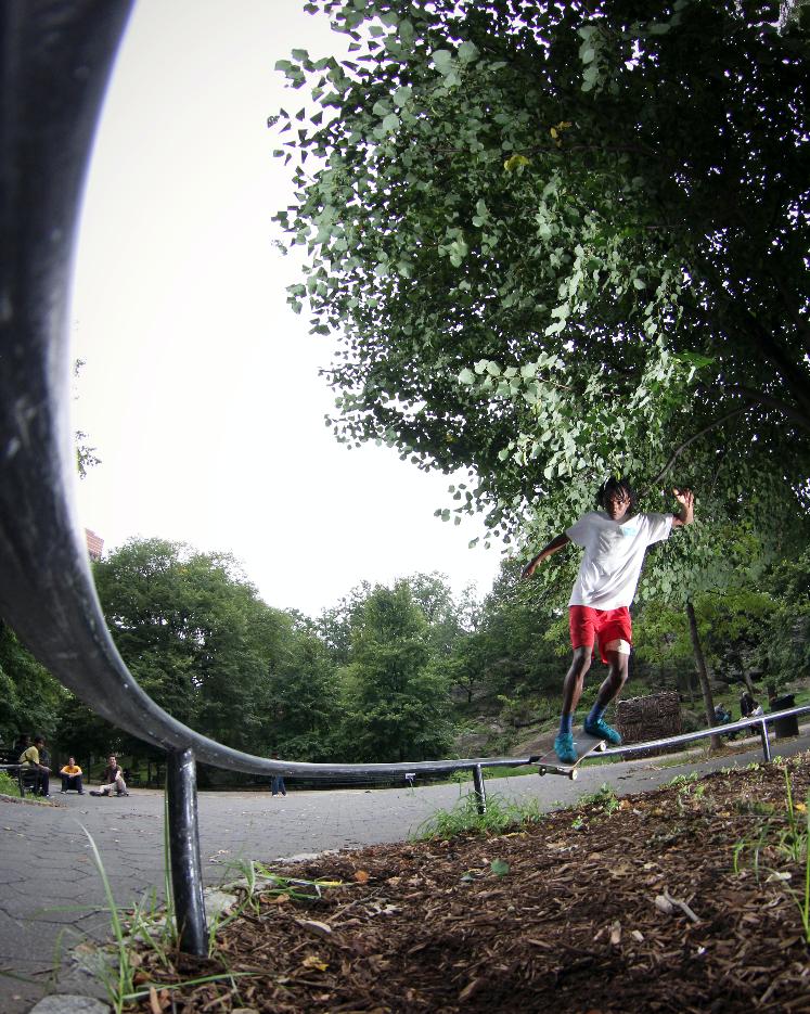 Kris Clayton-Front Feeble NYC / Photo: Bowser