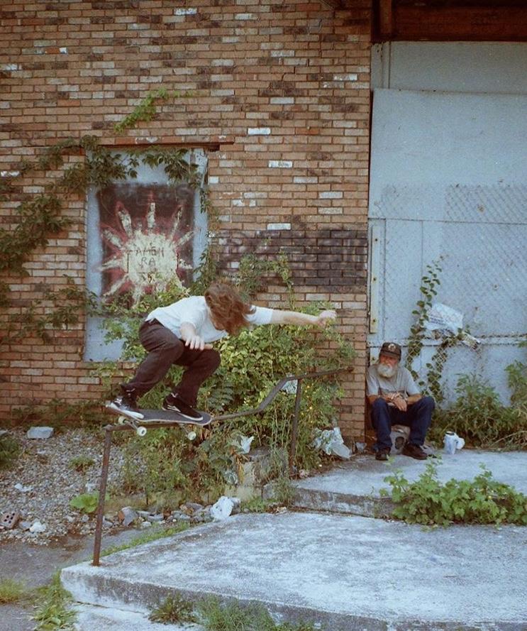 Neil Herrick: Backside 5050. Photo: Zach Sayles