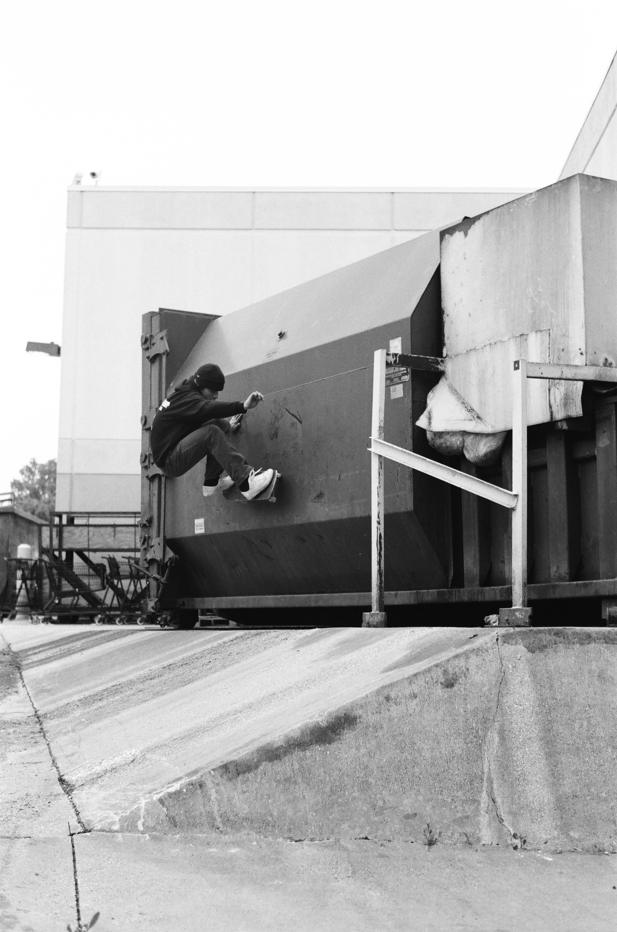 Ollie up to frontside wallride, photo by Kevin Delgrosso