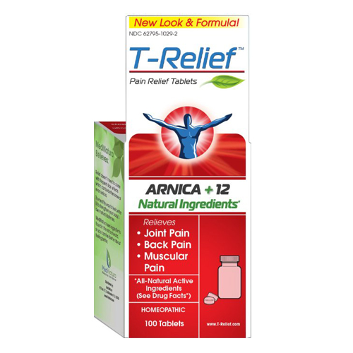 $15. T-Relief  Commonly prescribed homeopathic supplement to aid in joint, back and muscle pain and inflammation.