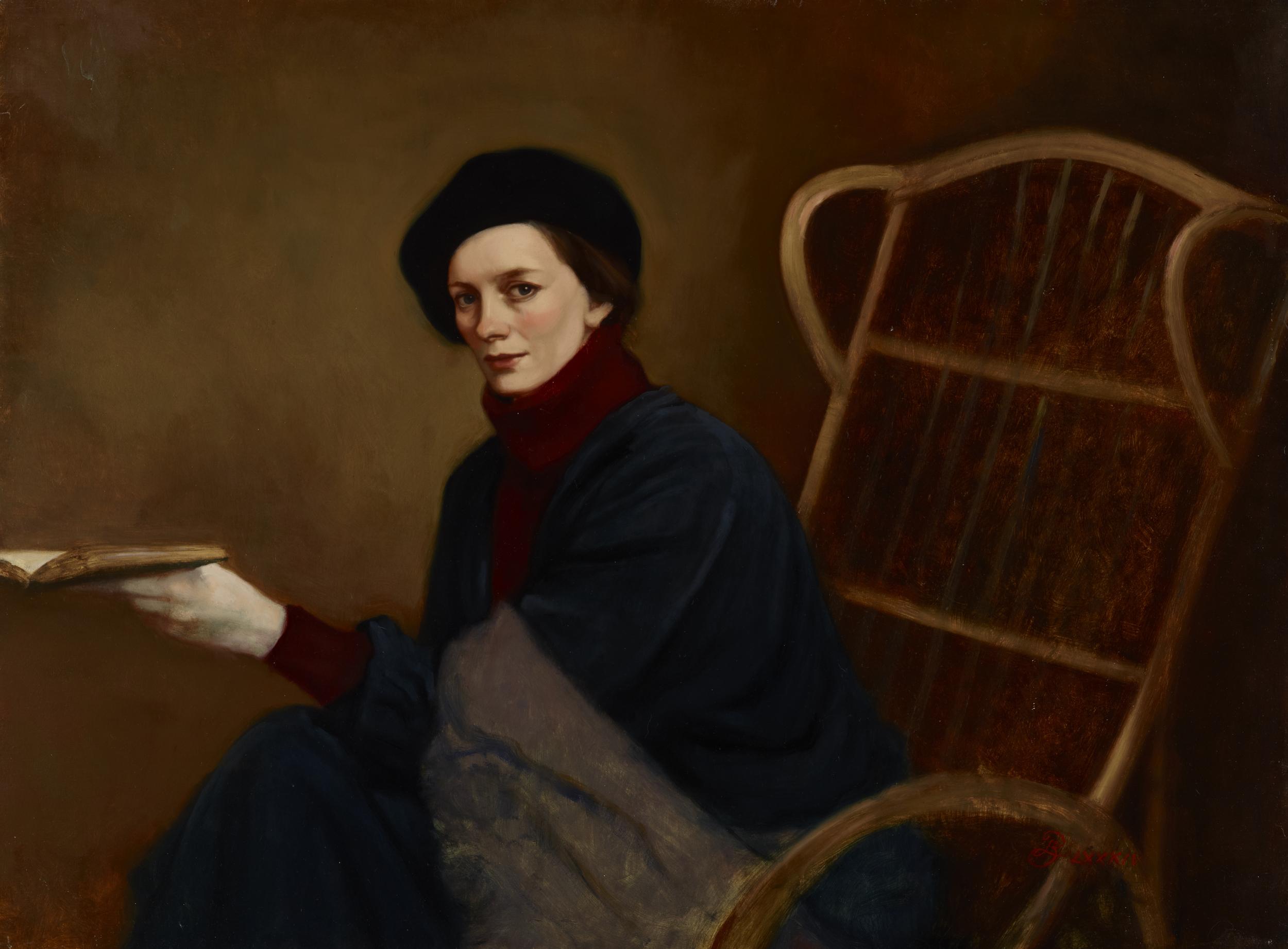 Carolyn in Rocking Çhair