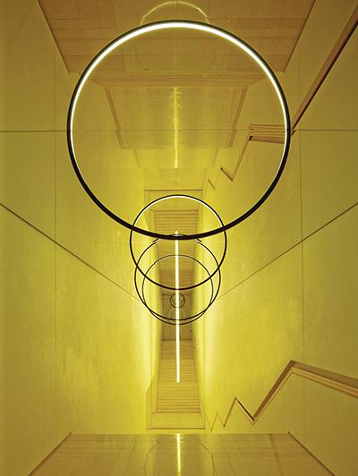 ©  Olafur Eliasson,Gravity stairs, 2014