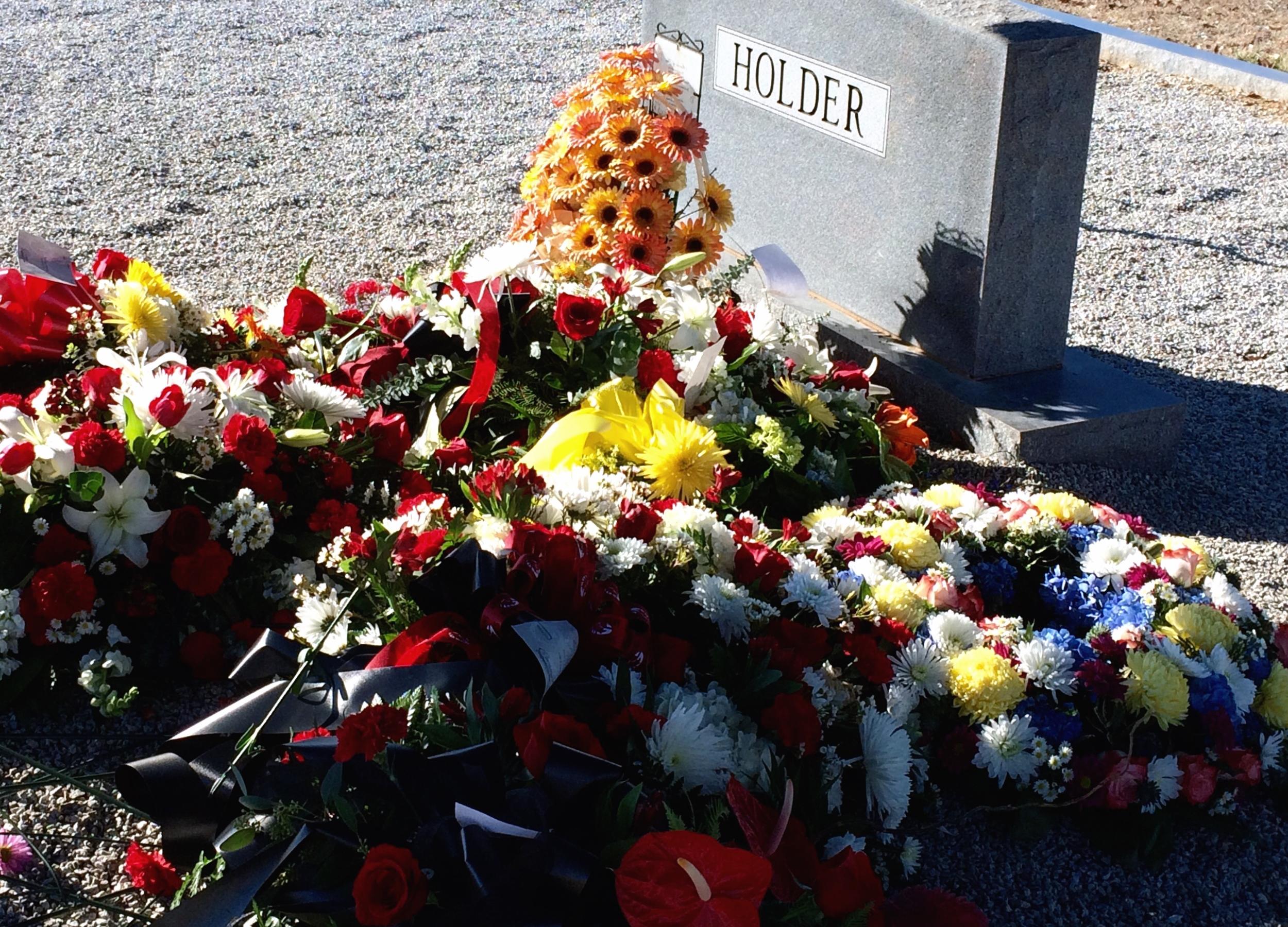 Holder Headstone