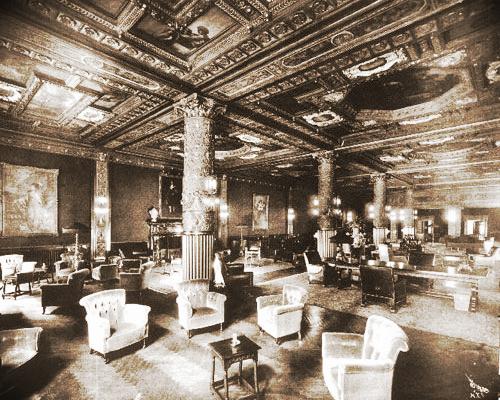 The Prince George Ballroom in 1912