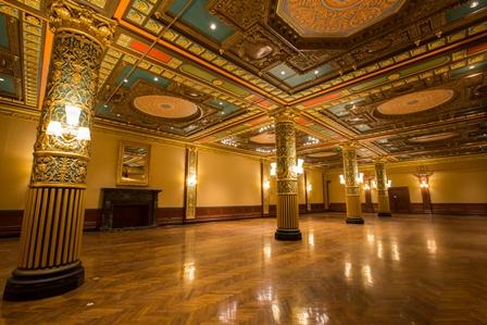 The Prince George Ballroom today.