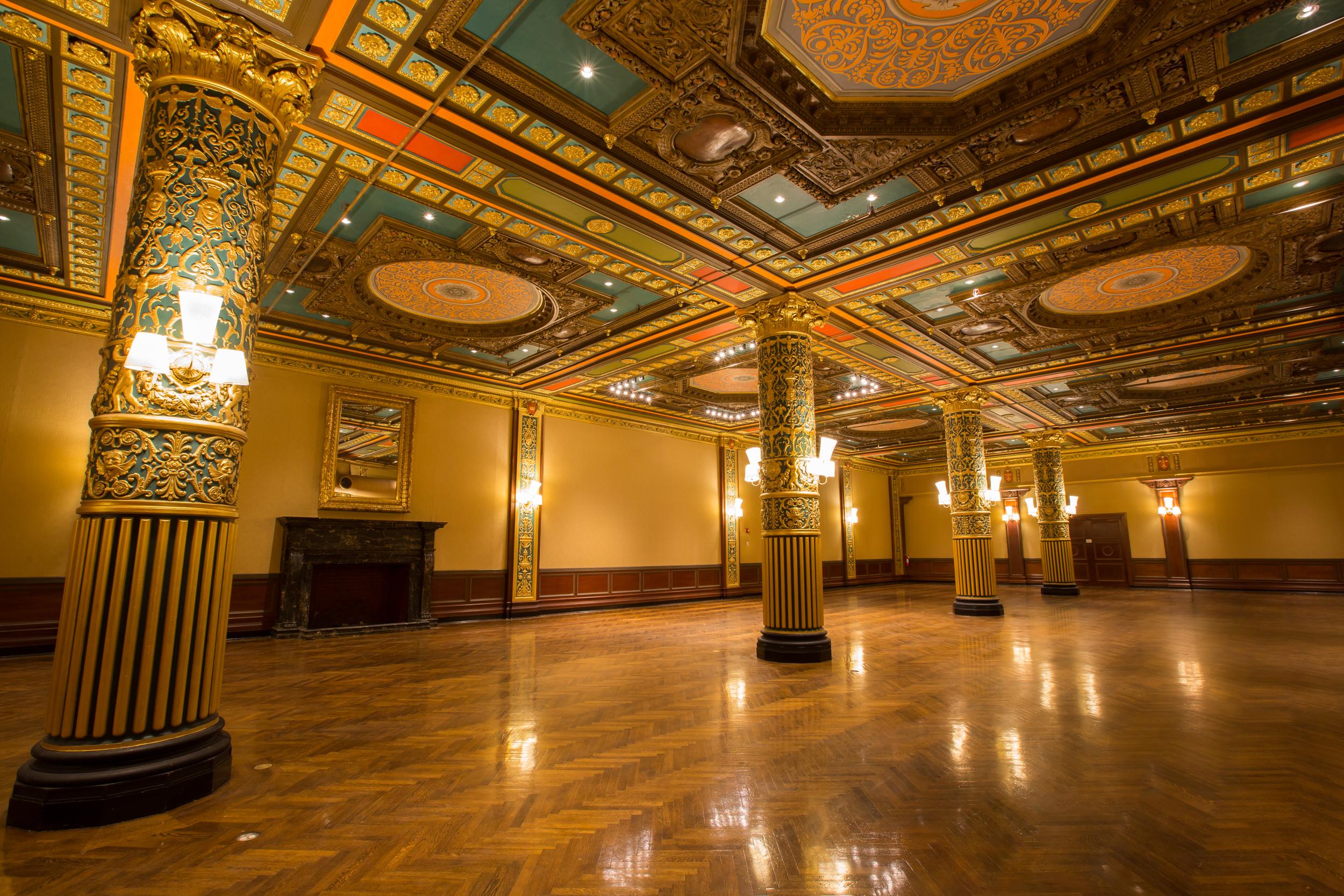The Prince George Ballroom  (Photo credit: Michael Priest Photography )