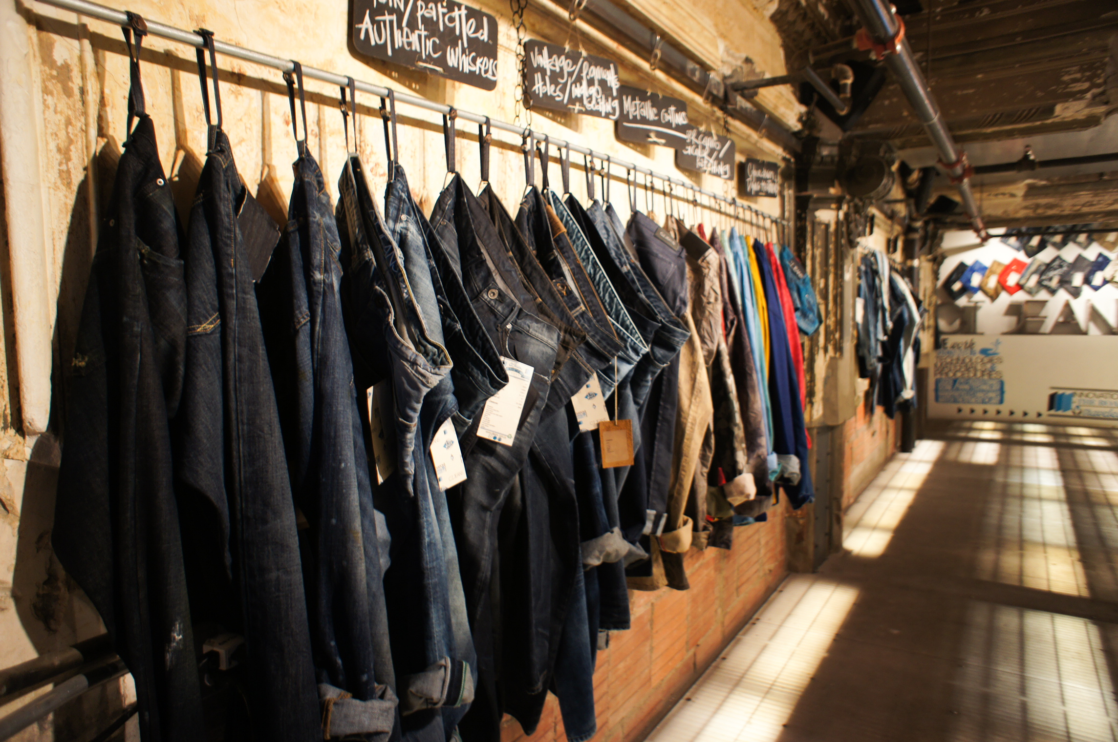 CI Jeans Denim Day Showroom