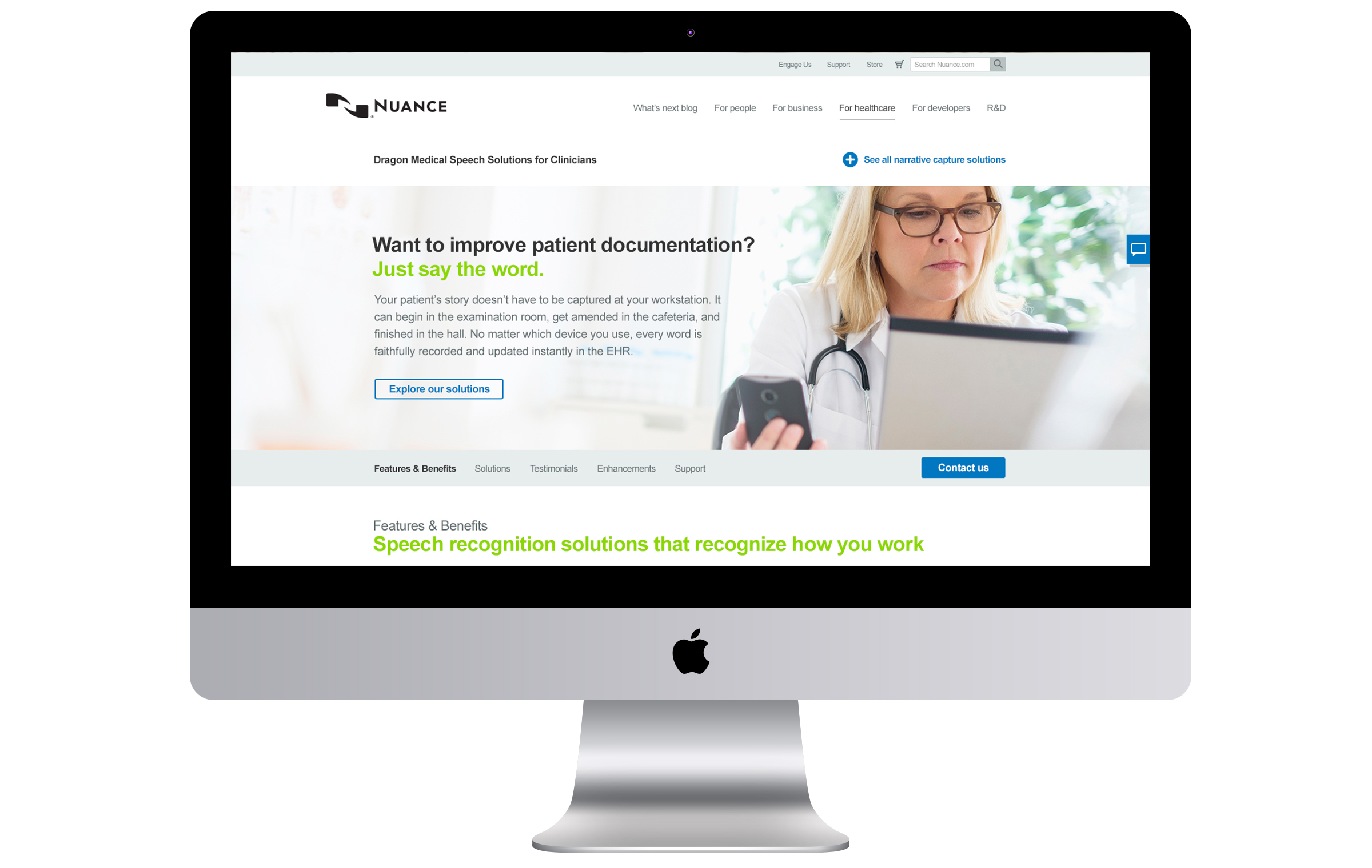 HEALTHCARE WEBPAGES